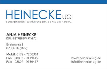 Heinecke Ug Büroorganisation Und Buchhaltung